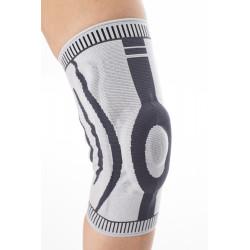 Orteza stawu kolanowego ze wzmocnieniem rzepki i dodatkowym wzmocnieniem bocznym