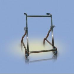 Chodzik typu rama, składany, dwukołowy - CA941