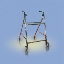 Chodzik typu rama, składany, dwukołowy - CA942