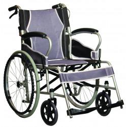 Wózek inwalidzki stalowy, ultralekki